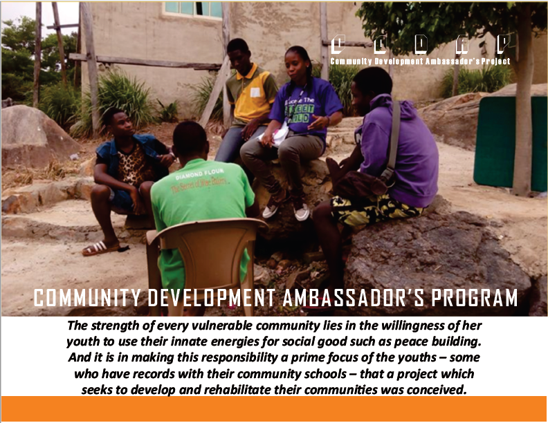 Community Development Ambassador's Program